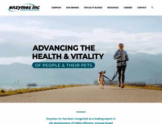 enzymesinc.com screenshot