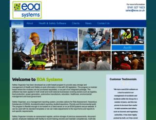 eoa.co.uk screenshot
