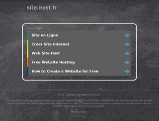 eoesssi.site-host.fr screenshot