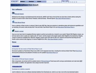 eolsoft.com screenshot