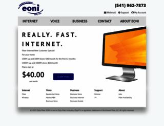 eoni.com screenshot
