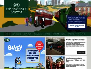 eorailway.co.uk screenshot