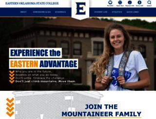 eosc.edu screenshot