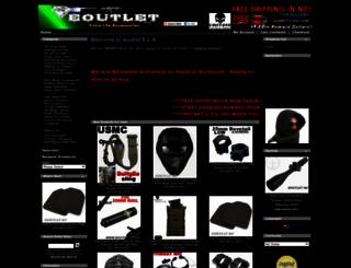 eoutlet.co.nz screenshot