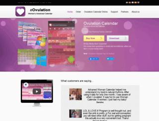 eovulation.com screenshot