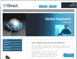ep-direct.net screenshot