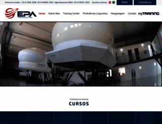 epa.aero screenshot