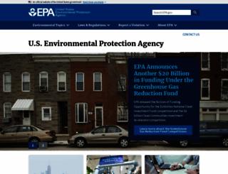epa.gov screenshot