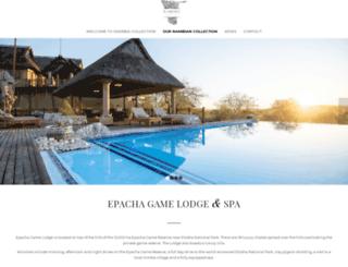 epacha-lodge.com screenshot