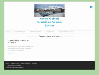 epalliria.edu.gva.es screenshot