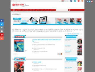 epaper.pcworld.com.vn screenshot