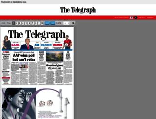 epaper.telegraphindia.com screenshot