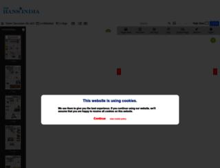 epaper.thehansindia.com screenshot