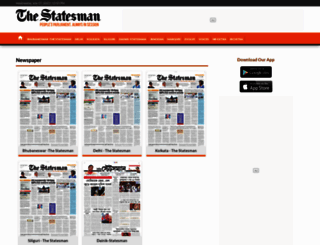 epaper.thestatesman.com screenshot