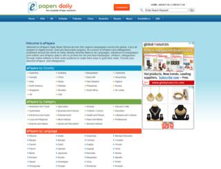 epapersdaily.com screenshot