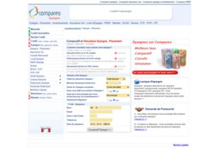 epargne.compareo.net screenshot