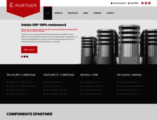 epartner.ro screenshot