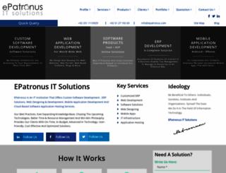 epatronus.com screenshot