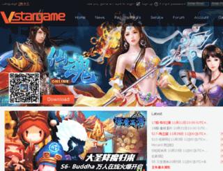 epay.vstargame.com screenshot