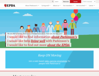 epda.eu.com screenshot