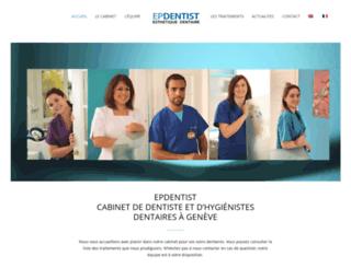 epdentist.ch screenshot