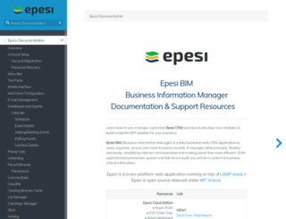 epesi.org screenshot