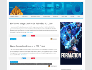 epf-india.co.in screenshot