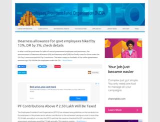 epf-india.com screenshot