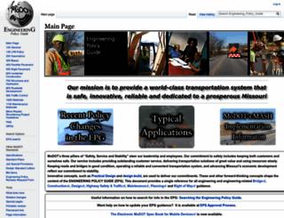 epg.modot.org screenshot