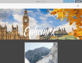 ephemrx.com screenshot