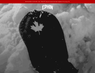 ephinstore.com screenshot