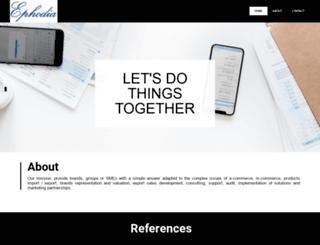 ephodia.fr screenshot
