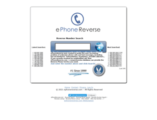 ephonereverse.com screenshot