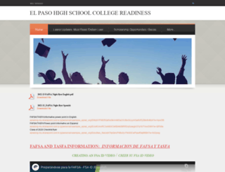 ephscollege.weebly.com screenshot