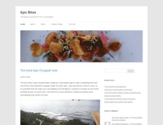 epicbitescatering.wordpress.com screenshot