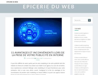 epicerie-bien-etre-almyx.fr screenshot