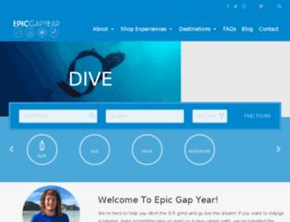 epicgapyear.com screenshot