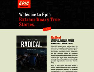 epicmagazine.com screenshot