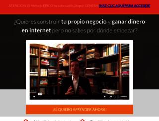 epico.oscarfeito.com screenshot