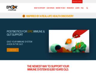 epicorimmune.com screenshot