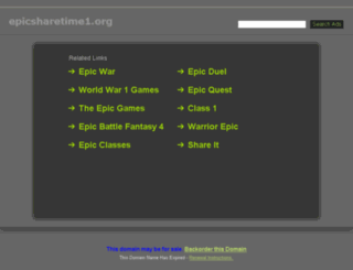 epicsharetime1.org screenshot