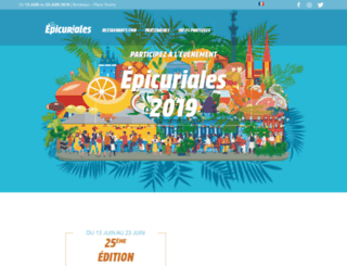 epicuriales.com screenshot