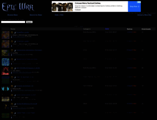 epicwar.com screenshot