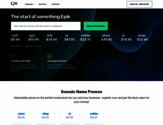 epik.com screenshot