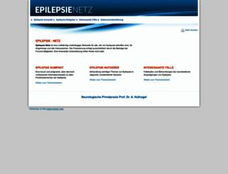 epilepsie-netz.de screenshot