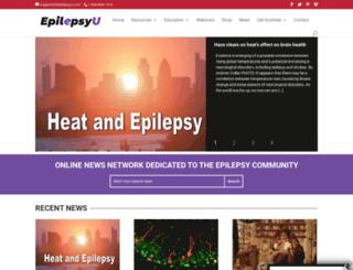 epilepsyu.com screenshot