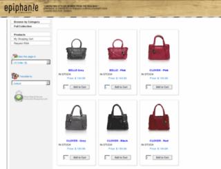 epiphaniebags-payment.com screenshot