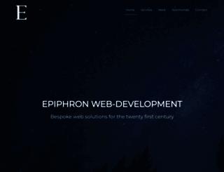 epiphron.co.nz screenshot