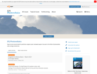 epj-pv.org screenshot
