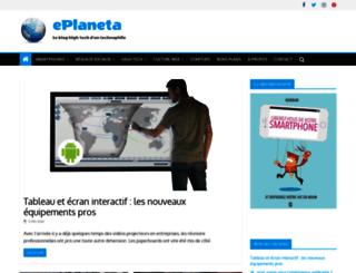 eplaneta.fr screenshot